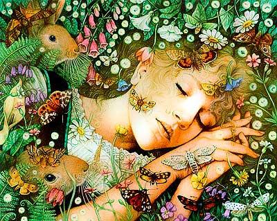 Что снится к любви, счастию и радостям