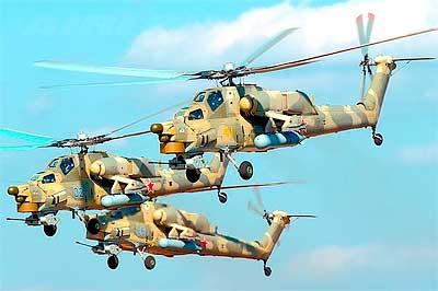 Стрекоза и вертолёт