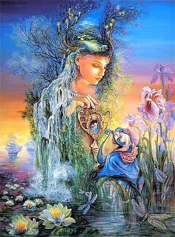 В фантазии рождаются порою немые сны …