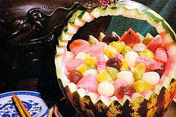 необычный рецепт десерта из арбуза