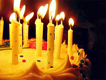 Семейные праздники: День рождения