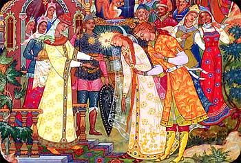 Тили-тили тесто жених и невеста: Русские народные свадебные традиции