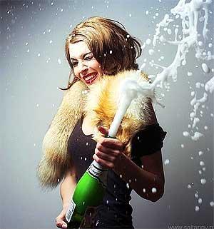 как открывать шампанское