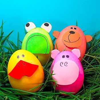 красим яйца для детей
