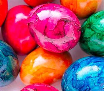 Как покрасить яйца на пасху: натуральная палитра