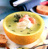 суп из дыни