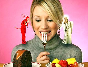 Толстеть или не толстеть?: Размышления перед обедом