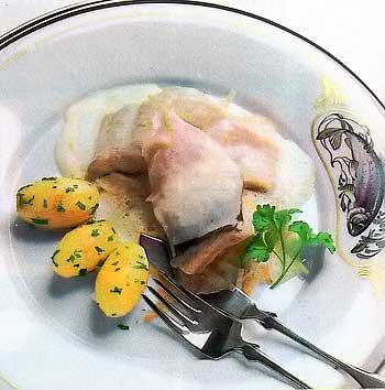 филе карпа в пряном соусе