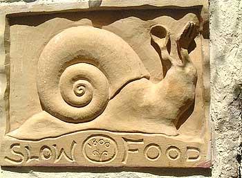 улитка - символ медленной еды