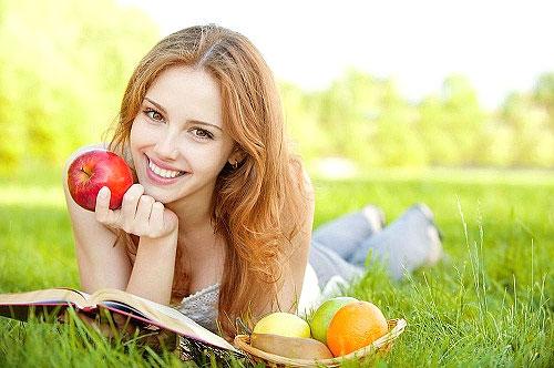 овощи, фрукты и другая натуральная еда