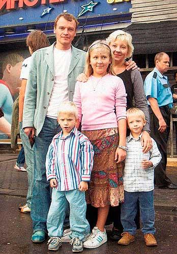 семья Алексея Серебрякова