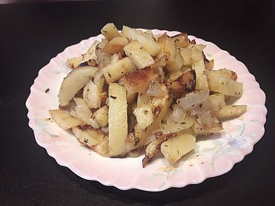 Как пожарить картошку, чтобы было вкусно