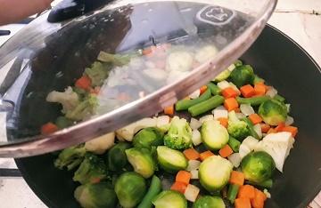 замороженные овощи - что приготовить